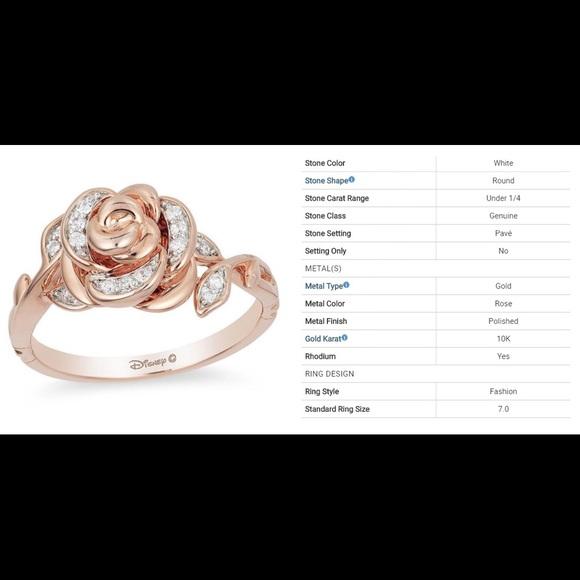 f8ad02995 Enchanted Disney 1/10 CT. T.W. Diamond Rose Ring. M_5be9a7c32e14783bb4fe21a9